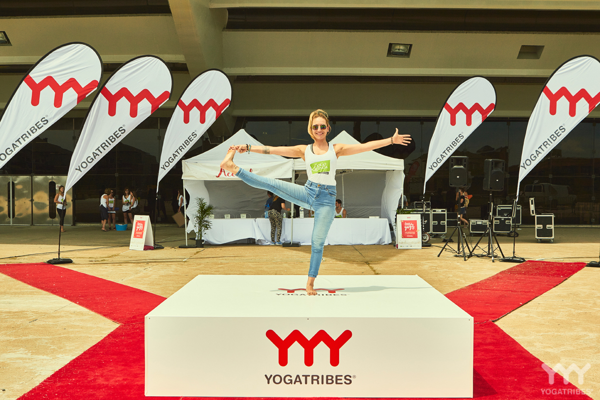 C'est un départ pour la tournée Tout le monde yoga à Montréal!