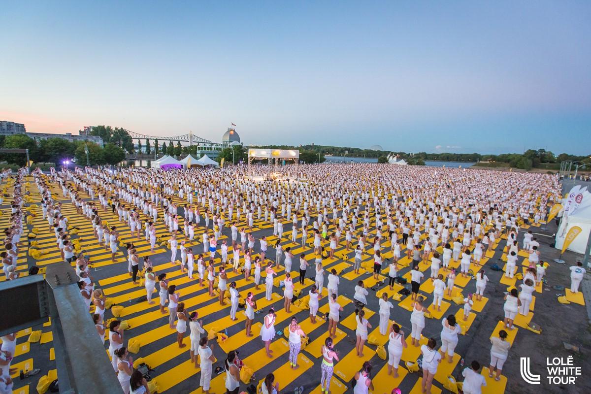 Le célèbre Lolë White Tour est de retour à Montréal cet été