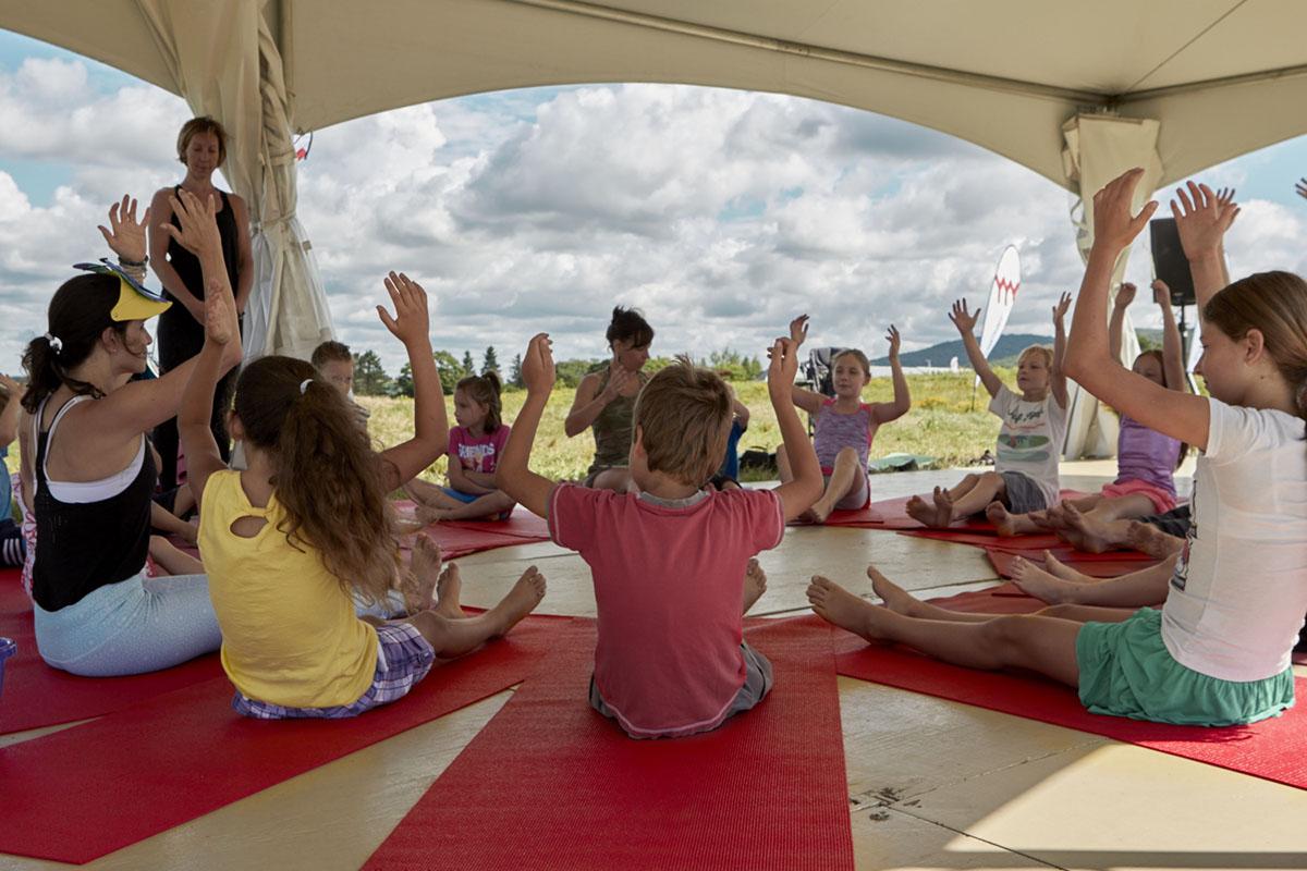 Yoga pour enfants: à chaque âge son yoga
