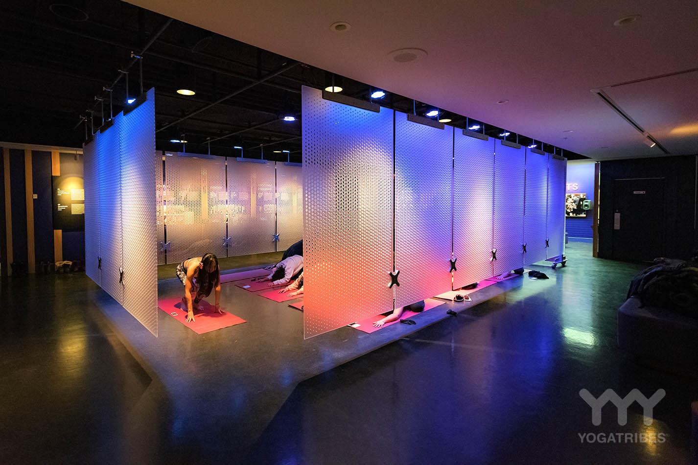 Immersive Yoga at Espace OSM
