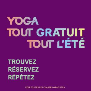 Classes gratuites de yoga