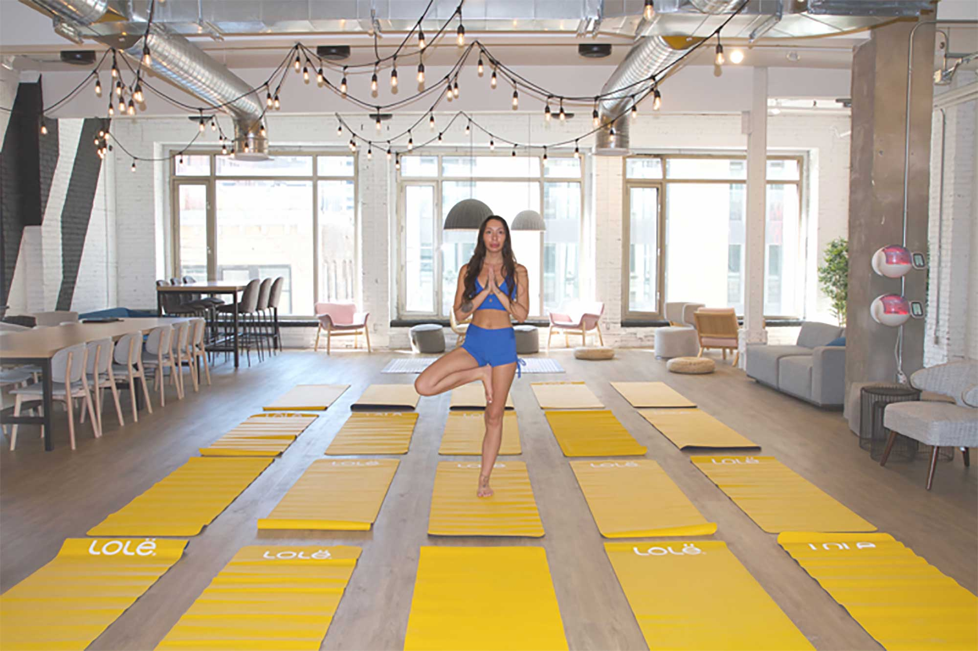 A new yoga series this fall in downtown Montreal @WorkBase