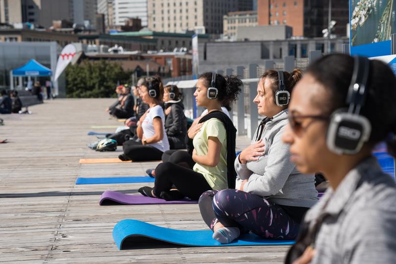 Une autre année, une autre série de yoga immersif !