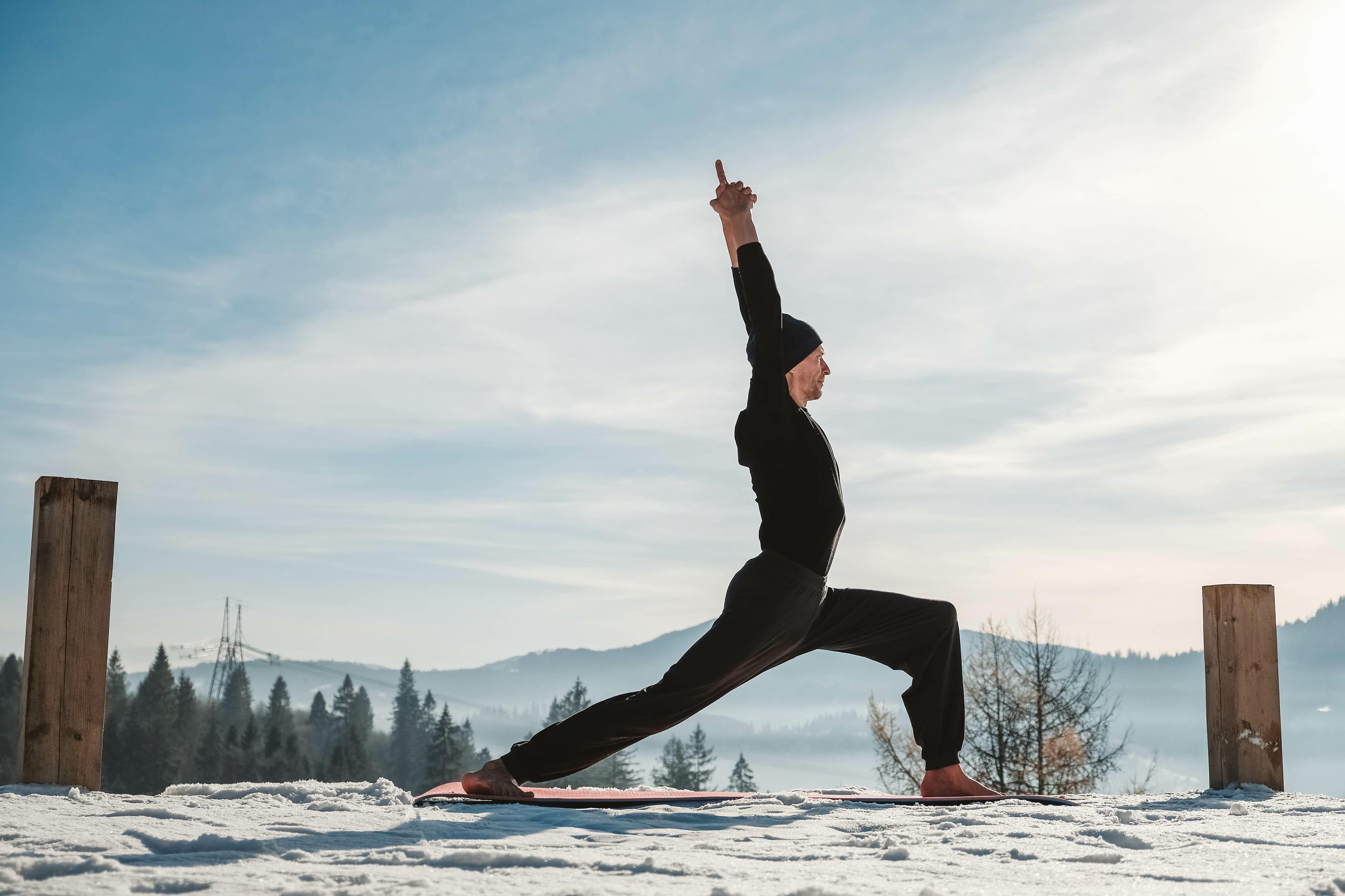 Le yoga en plein air